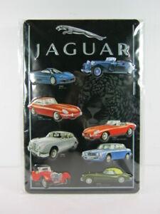 Blechschild-JAGUAR-Produktpalette-Auto-Car-30-cm-NEU-metal-shield