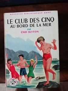 Le club des cinq au bord de la mer / N°46  Enid Blyton 1962