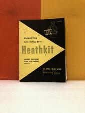 Heath Kit Audio Vacuum Tube Voltmeter Model Av 3 Construction Manual