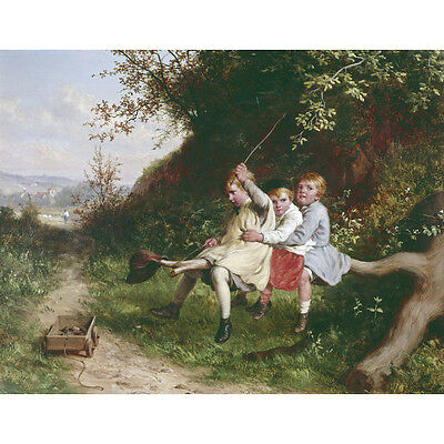 W Bromley Print The Country Ride