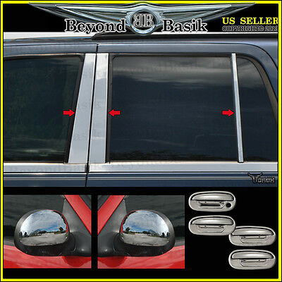 1998-2002 Navigator Pillar Posts+ChromeDoor Handle(w/o PSK,KP)+Mirror(C) COVERS