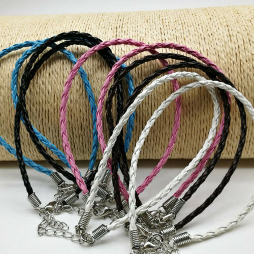 25Pcs Rope Cord Bracelet Necklace Making DIY Handmade Jewelry Accessories