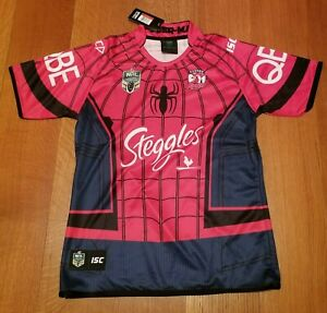 Rugby Jersey Spider Man Theme Brand New