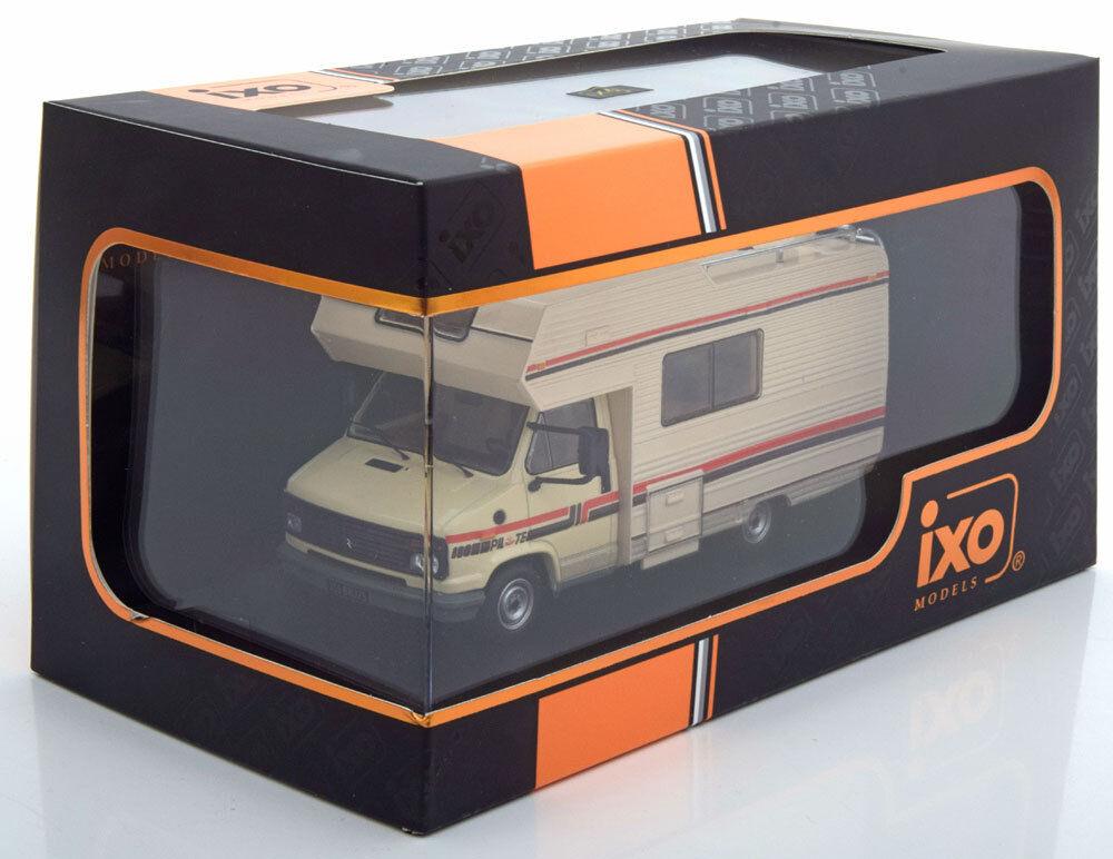 CITROEN C25 CAMPING CAR 1985 BEIGE IXO CAC001 1 43 MOBIL HOME CARAVANING