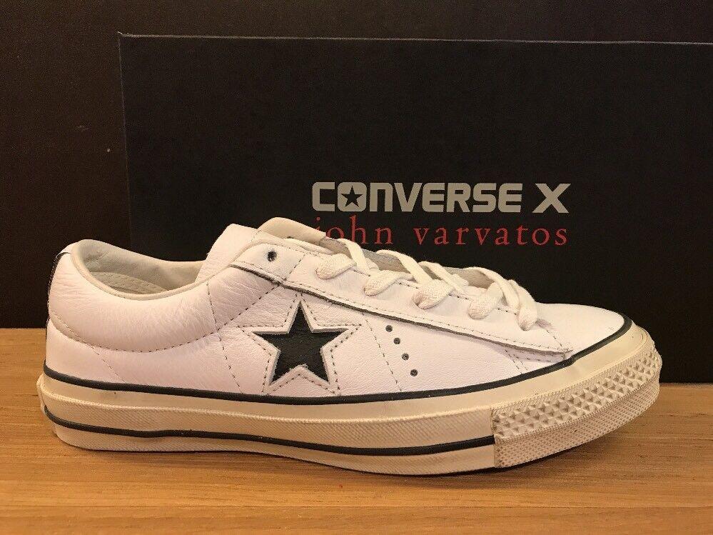 CONVERSE JOHN VARVATOS ONE STAR DISTRESSED n.42,5 NUOVE 100% ORIGINALI !!!