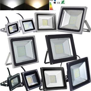 100W-50W-30W-20W-10W-LED-de-luces-de-seguridad-reflector-al-aire-libre-Jardin-Lampara-SMD-220V