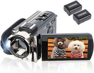 "New Video Digital Camera 24MP Camcorder 3"" LCD Full HD 1080P YouTube Vlogging"