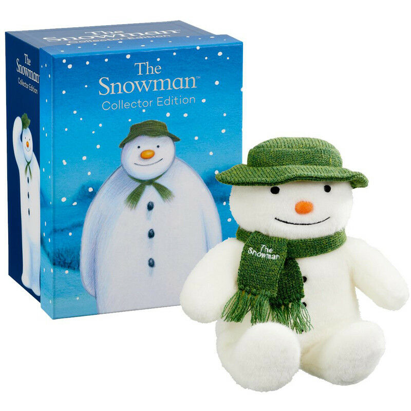 Rainbow Designs The Snowman Collectors Edition Snowman Plush - SM1561 - NEW