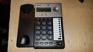 AT-amp-T-ML17929-2-Line-Corded-Office-Phone-System-No-Power-Supply-NO-Phone