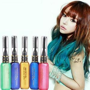 4pcs Professional Hair Color Temporary Hair Dye Cream & Pens Touch ...