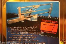 Granberg Chainsaw Chain Precision Sharpening Jig Kit File-N-Joint