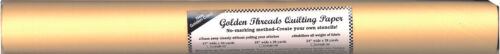 """GOLDEN THREADS QUILTING PAPER 12/"""" x 60 Ft Trace Stitch Quilt Tear Pounce GTQP12"""