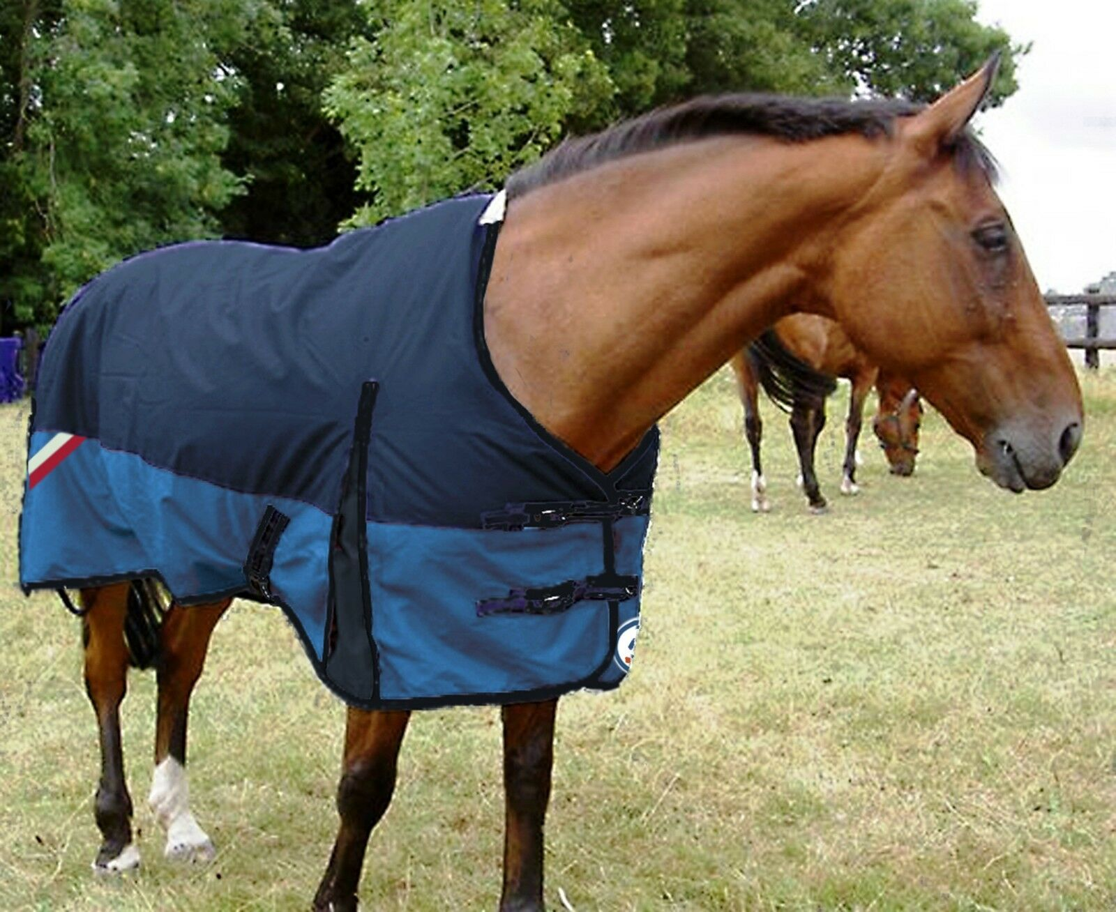GEE TAC HORSE Lightweight TURNOUT RUG FLEECE LINED WITH A STRONG 1200D OUTER