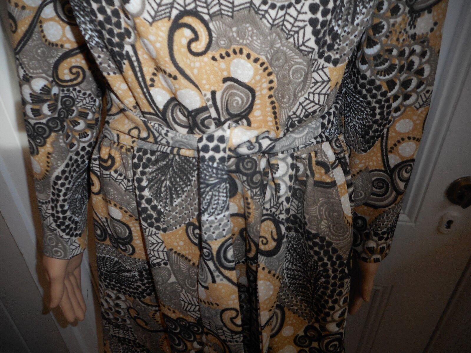 Vintage Sacony Exclusive Dress With Belt - image 2