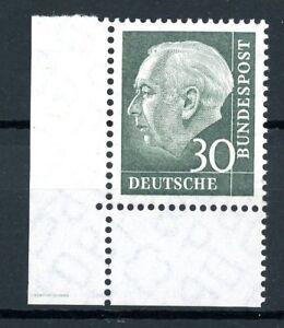 Bund-MiNr-259-x-v-Eckrand-ul-postfrisch-MNH-BdT176