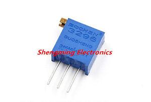 10pcs 3296X-102 1K ohms Precision Multi-Turn Adjustable Potentiometer