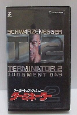 TERMINATOR 2: JUDGMENT DAY - Japanese original VHS  RARE