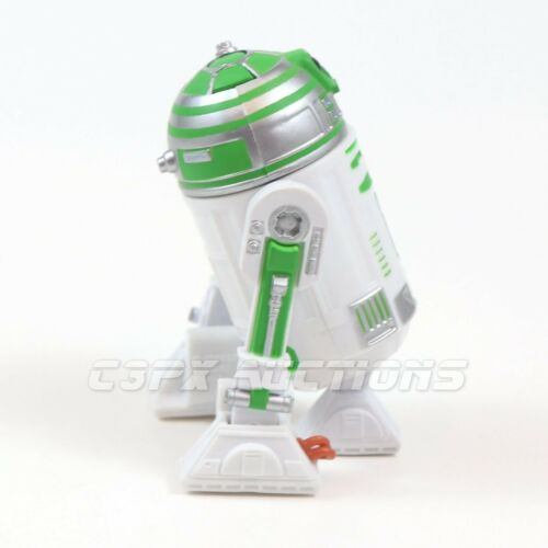 Star Wars R2 WHISTLER Droid Factory Figure,Legacy,2009,Walmart,LOOSE Green R2-D2