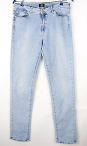 Bogner Hommes Jackie Slim Jambe Droite Jeans Extensible Taille W32 L34 AVZ1603