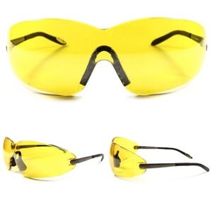 Sunglasses About Lens Around Details Wrap Yellow Sport Night Oversized Motorcycle Riding Biker SMpqUVzG