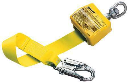 Weight Capacity Yellow Self HONEYWELL MILLER 8327A//10FTYL 10 ft.L 310 lb