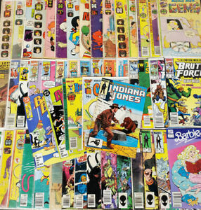 100-Vintage-Kids-Comic-Books-Superhero-Marvel-Archie-TMNT-Richie-Rich-Huge-Lot-B