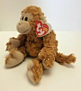 "Beanie Baby Babies 8"" Fumbles Monkey DOB September 1 2004 Plush Retired"