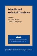 Scientific and Technical Translation (American Translators Association Scholarly