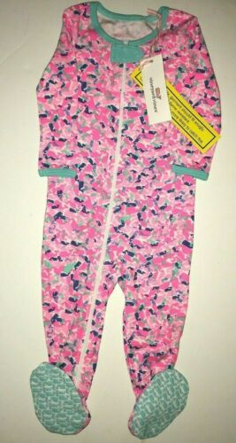 $45 NWT Baby Gift VINEYARD VINES Whale Swirl Footed One Piece Pajamas