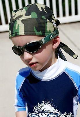 UV Head Wrap /& Sunglasses Combo Little Hunter Camo Age 2-5 by Kidz Banz