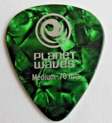 10 X Planet Waves D/'addario Classic Green Celluloid .50m Guitar Picks Plectrums