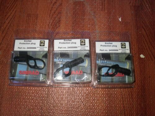 NEW Also Works for Robnet2 Simrad SIMNET PROTECTION PLUG LOT OF 3-24005886