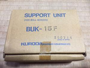 NEW-KURODA-BUK-15F-BUK15F-NEW-Fixed-Side-Ballscrew-Support-Unit-NIB