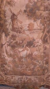 Old Fabric Tapissery Ancienne Tapisserie Ebay