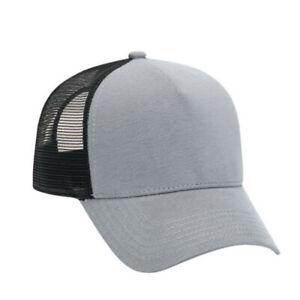Justin-Bieber-Trucker-Hat-Perse-Alternative-Solid-Black-Similar-Look-Flannel-New