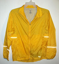 yellow vented nylon cycling jacket by Hind size XL