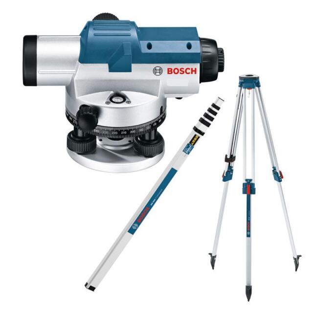 Messlatte GR 500 Bosch Optisches Nivelliergerät GOL 20 D Set Stativ BT 160