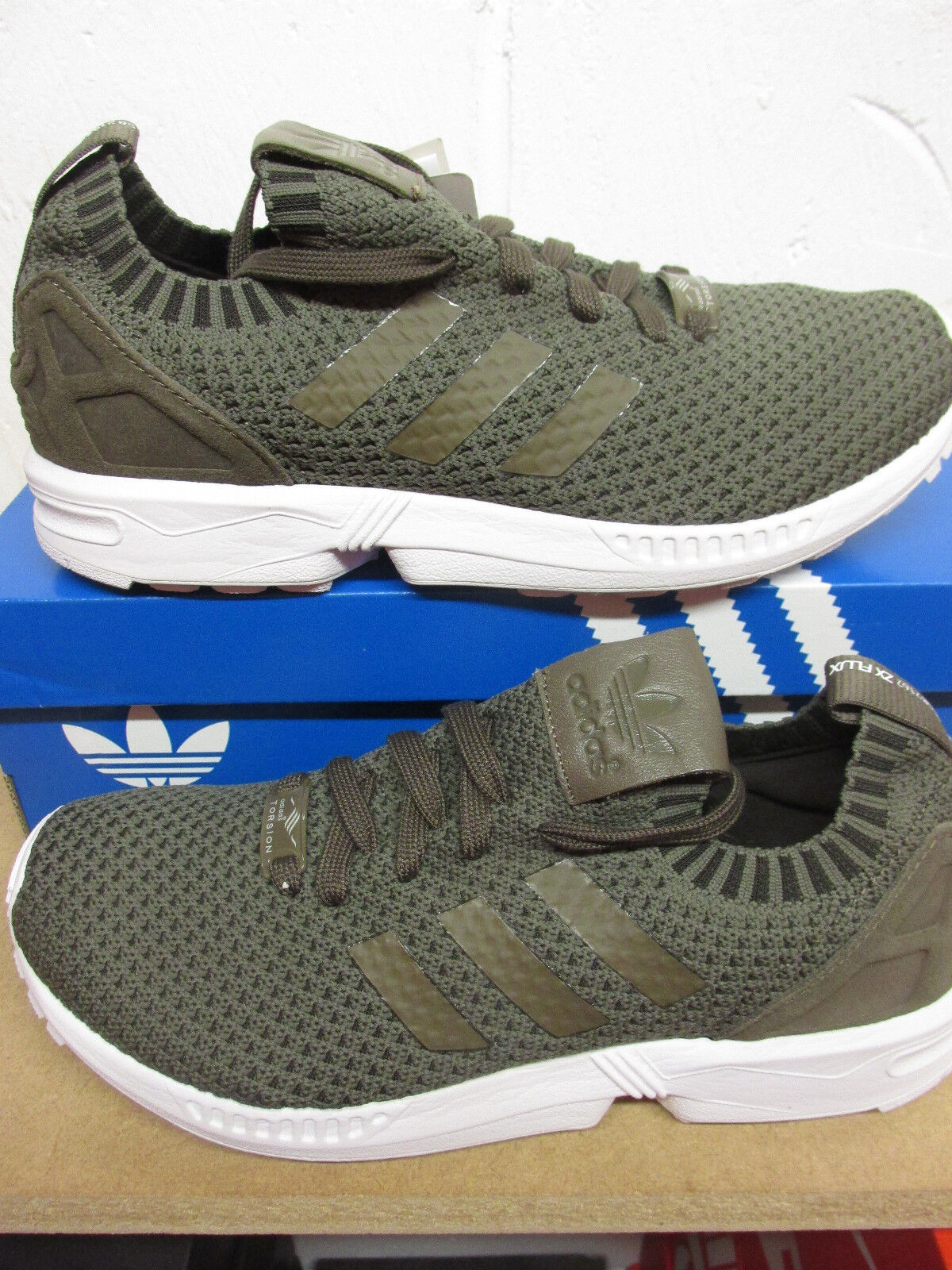 Adidas Originals ZX Flux PK Sneakers Hombre Running Trainers S82162 Sneakers PK 8209f6