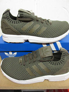 9fd1312f0 Image is loading Adidas-Originals-ZX-Flux-PK-Mens-Running-Trainers-