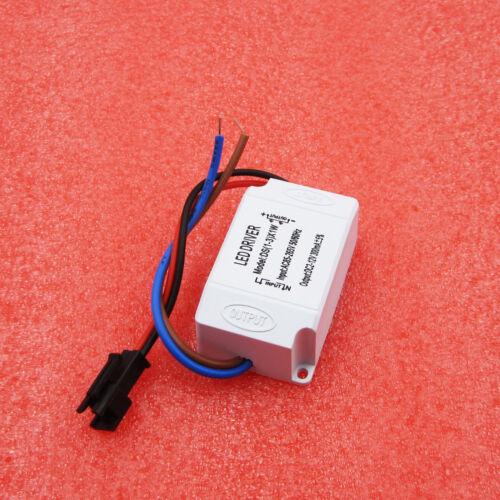 LED Electronic Transformer AC 85V-265V to DC 2V-12V Power Supply Driver 3X1W