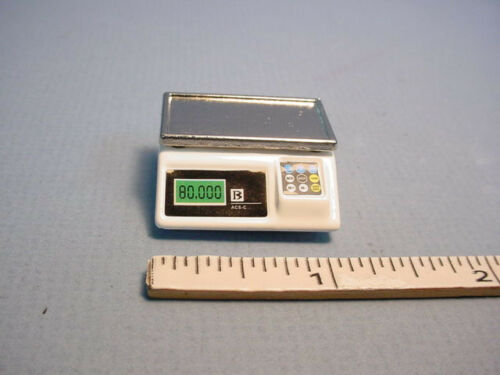 Dollhouse Miniatures Digital Scale Non-Working  #G7212