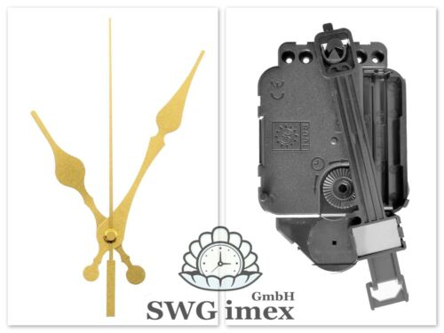Quarz-Pendel-Uhrwerk Pendeluhrwerk Pendel Uhrzeiger Satz Gold 95 mm ✔100