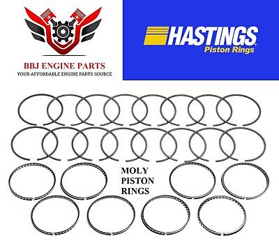 Hastings FORD 289 302 351W Plasma Moly Piston Rings 65 File-Fit 1//16 1//16 3//16