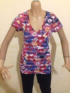 MAGLIA-HILFIGER-DENIM-TAGLIA-size-L-DONNA-maglietta-t-shirt-woman-cotone-P-1855