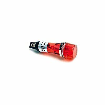 220V 240V AC Indicator Light RED 240Vac Panel Mount Globe 10MM
