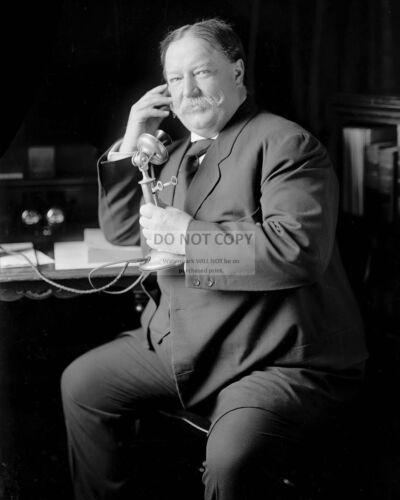 WILLIAM HOWARD TAFT DA-396 8X10 PHOTO 27TH PRESIDENT OF THE UNITED STATES