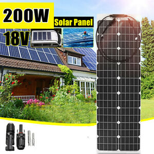 400W-18V-Waterproof-Power-Solar-Panel-Cell-Battery-Charger-For-Car-Boat-Outdoor
