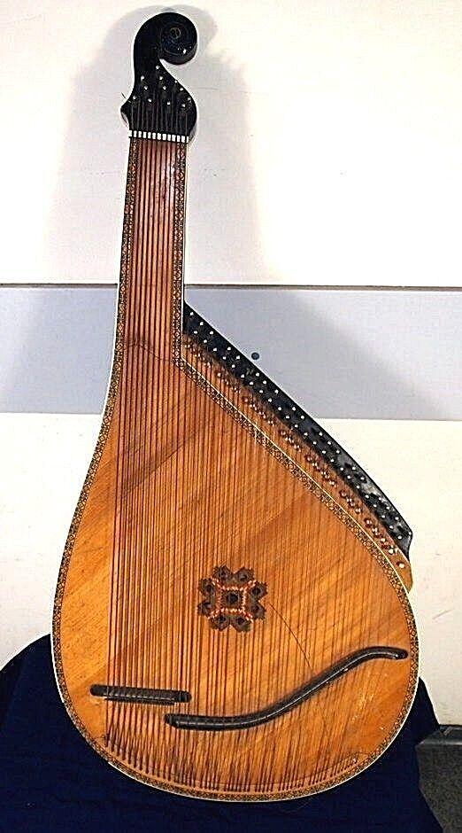 Ukrainian folk folklore instrument BANDURA (52 string)  № № № 2 1880a1