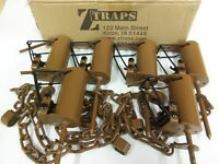 6 Z Trap Dead Grass (pull Only) Dp Dog Proof Coon Trap Trapping Raccoon