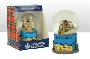 Edinburgh-Castle-Schneekugel-Schottland-Snowglobe-Souvenir-Neu